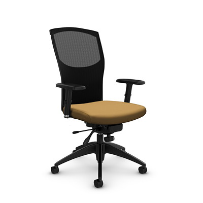 Global Alero High-Back Mesh Knee-Tilter Chair