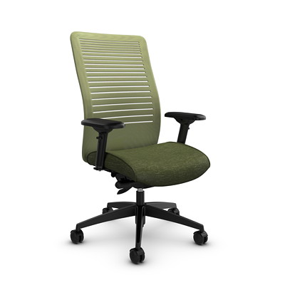 Global Loover High-Back Mesh Synchro-Tilter Chair