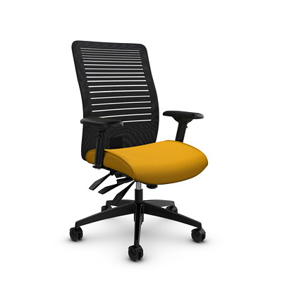 Global Loover Mid-Back Mesh Multi-Tilter Chair