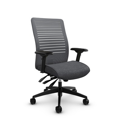 Global Loover Mid-Back Mesh Multi-Tilter Chair