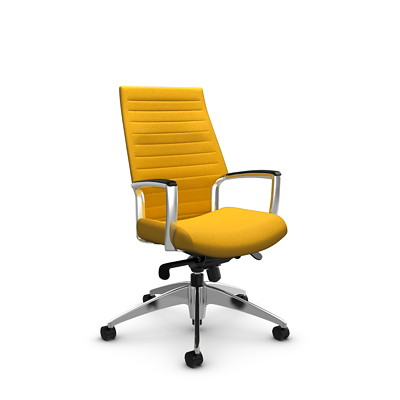 Global Accord High-Back Knee-Tilter Chair