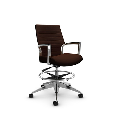 Global Accord Low-Back Drafting Chair
