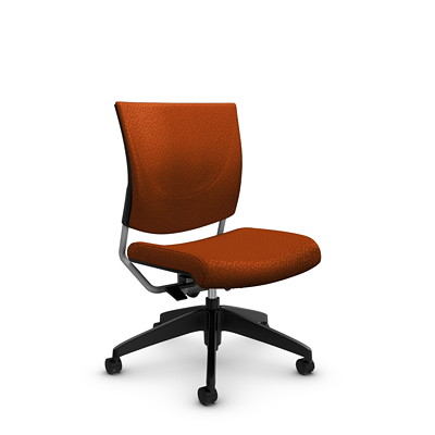 Global Graphic Posture Armless Chair