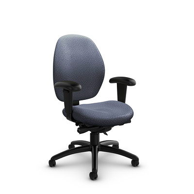 Global Malaga Low-Back Synchro-Tilter Chair