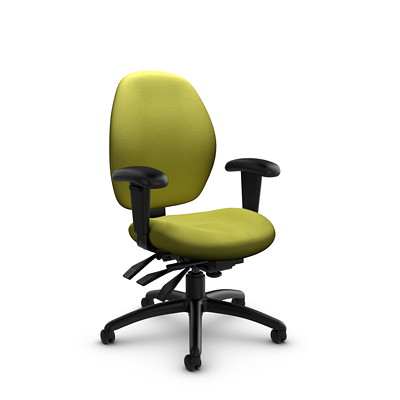 Global Malaga Low-Back Multi-Tilter Chair