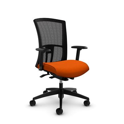 Global Vion High-Back Mesh Weight-Sensing Synchro-Tilter Chair