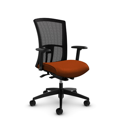 Global Vion High-Back Mesh Weight-Sensing Synchro-Tilter Chair
