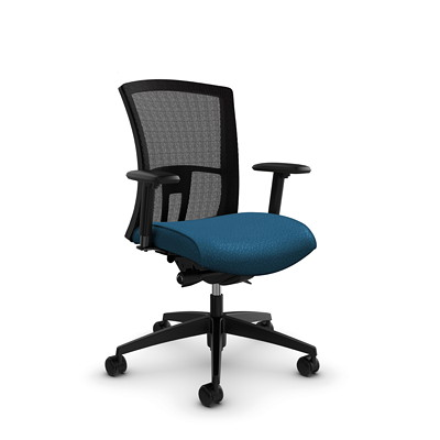 Global Vion Mid-Back Mesh Synchro-Tilter Chair