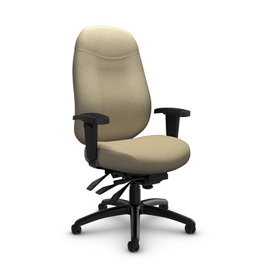 Global Granada Deluxe Heavy-Duty High-Back Multi-Tilter Chair
