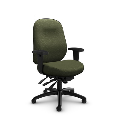 Global Granada Deluxe Heavy-Duty Low-Back Multi-Tilter Chair