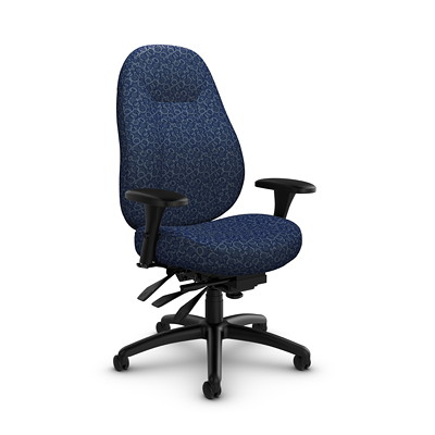 Global ObusForme Comfort 24-Hour Mid-Back Multi-Tilter Chair
