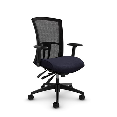 Global Vion High-Back Mesh Heavy-Duty Multi-Tilter Chair