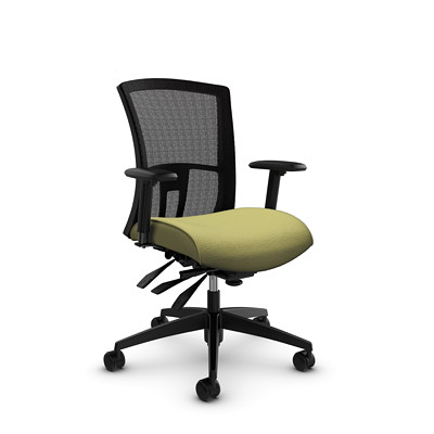 Global Vion Mid-Back Mesh Heavy-Duty Multi-Tilter Chair