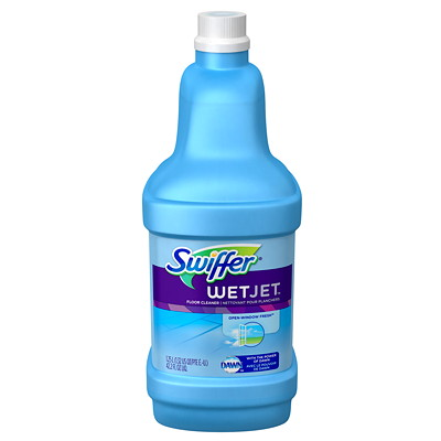 Swiffer WetJet Cleaner Solution Refill  CLEANING SOLUTION  1.25L REFILL FOR PG92811