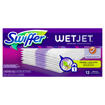 Swiffer WetJet Mopping Refill Pads FILL PADS  12 CT.