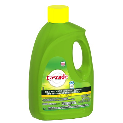 Cascade Gel Dishwasher Detergent, Lemon Scented, 3.51 L LEMON SCENT