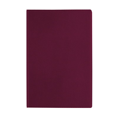 """Quo Vadis 13-Month Weekly Minister Planner, 6 1/4"""" x 9 1/2"""", Assorted Colours (No Colour Choice On Delivered Orders), December 2020 - December 2021, French X9-1/2 BLK BURG BLU GRN FRENCH 37% PCW"""