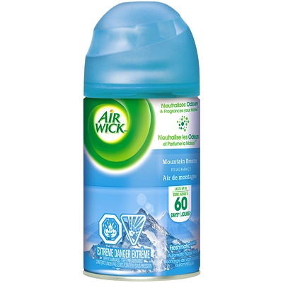 Air Wick FreshMatic Refill, 180 g  180G FORMAT CASE OF 6