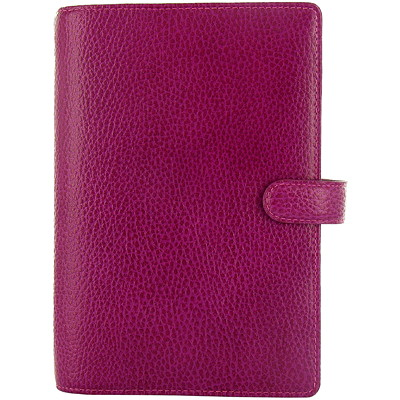 "Filofax Finsbury Weekly Organizer, 5 4/5"" x 7 3/5"", Red, January 2019 - December 2019, Multilingual FINSBURY - RASPBERRY PERSONAL SIZE  ENGLISH"