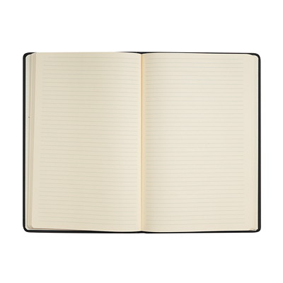 "Quo Vadis Habana Hardcover Lined Notebook, Red, A5 (6 1/4"" x 9"")  HABANA COVER RED"