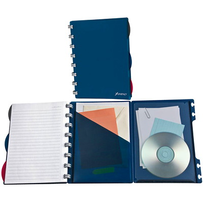 Ampad Versa Crossover Wide-Ruled Notebook LETTER SIZE  WIDE-RULED 60 SHEETS