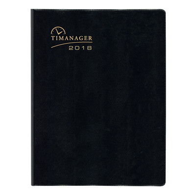 Blueline Timanager Weekly 5-Day Schedule Planner 10-1/4 X 7-5/8 ENGLISH 50% PCW  FSC CERTIFIED