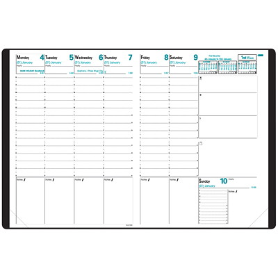 Quo Vadis Prenote Weekly Planning Diary Refill 8-1/4 X 11-3/4 ENGLISH FOR A24102 37% PCW