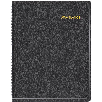 At-A-Glance Triple-View Weekly Appointment Book APPOINTMENT BOOK 11.375X9.625 BLACK ENGLISH   30% PCW