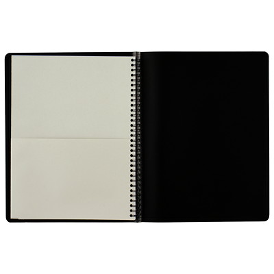 "At-A-Glance QuickNotes Weekly/Monthly Planner 10-7/8"" X 8-1/4"" BLK BILINGUAL"