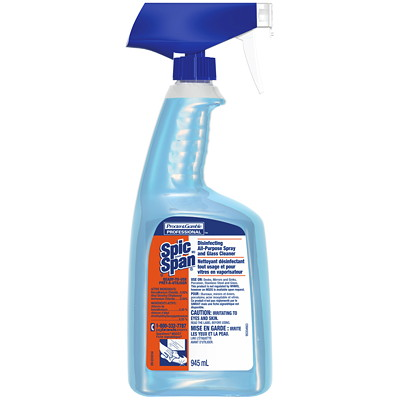 Spic and Span All-Purpose Disinfectant Cleaner, 945 mL  00639