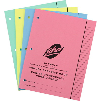 Hilroy School Exercise Book  80PAGES