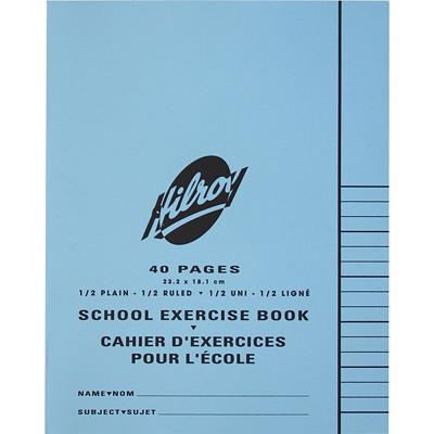 Cahier d'exercices pour l'école Hilroy LIGNES PARTIE INFERIEURE DU CAHIER SEULEMENT