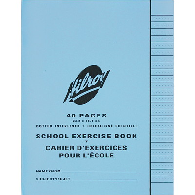 Hilroy School Exercise Book  40 PG 9.125X7.125