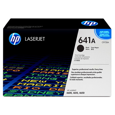 HP 641A (C9720A) Black Original LaserJet Toner Cartridge LASER PRINTER