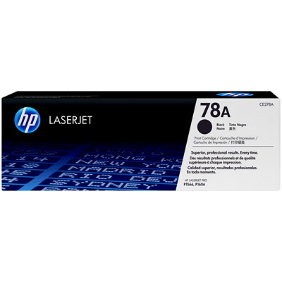 HP 78A (CE278A) Black Original LaserJet Toner Cartridge YIELD 2100