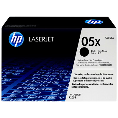 HP 05A/X Black Original LaserJet Toner Cartridge  HI YIELD 6 500
