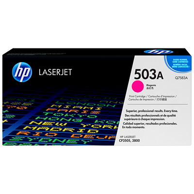 HP 503A (Q7583A) Magenta Original LaserJet Toner Cartridge AGE YIELD