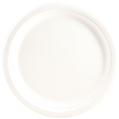 Eco Guardian Round Plates WHITE PK / 50