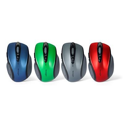 Kensington Pro Fit Mid-Size - mouse - 2.4 GHz - sapphire blue MID-SIZE  RIGHT-HANDED DESIGN 2.4GHZ TECHNOLOGY