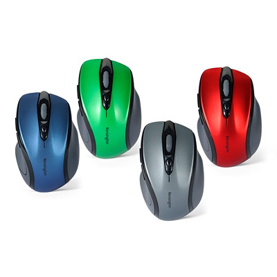 Kensington Pro Fit Mid-Size - mouse - 2.4 GHz - ruby red MID-SIZE  RIGHT-HANDED DESIGN 2.4GHZ TECHNOLOGY
