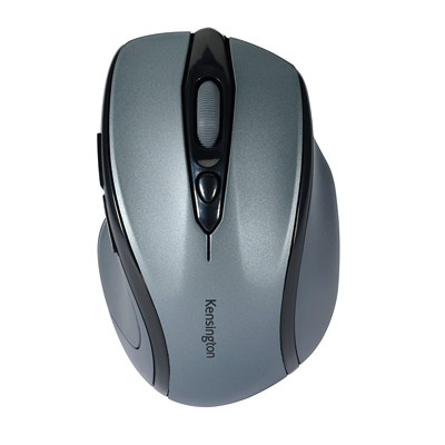 Kensington Pro Fit Mid-Size - mouse - 2.4 GHz - graphite gray MID-SIZE  RIGHT-HANDED DESIGN 2.4GHZ TECHNOLOGY