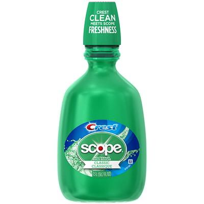 Crest Scope Classic Mouthwash, 1.5 L  PG # 98446