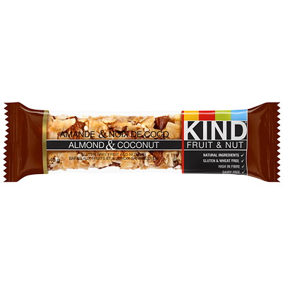 KIND Bars, Almond & coconut, 12 bars/box 12X40G