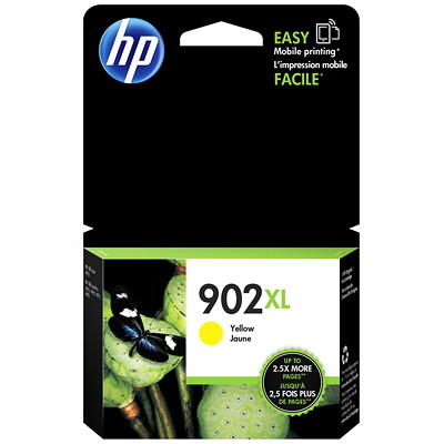 HP 902 Yellow High Yield Original Ink Cartridge (T6M10AN) 825 PG YIELD