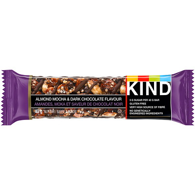 KIND Bars, Almond mocha & dark chocolate, 12 bars/box ALMD 12X40G