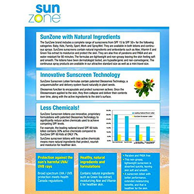 SunZone Sport SPF45 Sunscreen Spray, 177 mL CONTINUOUS SPRAY 177 ML