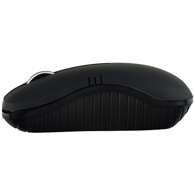 Verbatim Wireless Optical Notebook Mouse Commuter Series - mouse - matte black IDEAL FOR RIGHT/LEFT HAND USE 2.4GHZ RELIABILITY  1200 DPI