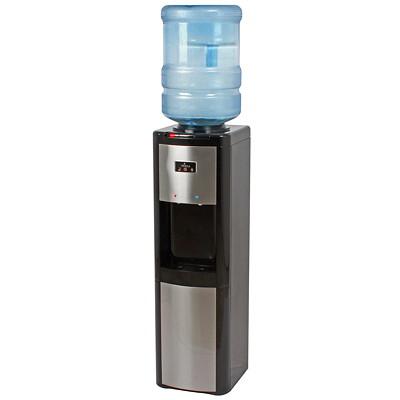 Distributeur d'eau chaude, froide et à température ambiante à chargement par le haut Vitapur À CHARGEMENT PAR LE HAUT VITAPUR  NOIR ET INOX