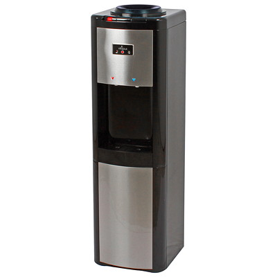 Vitapur Hot, Room Temperature and Cold Water Top Load Cooler  BLACK & STAINLESS STEEL VITAPUR