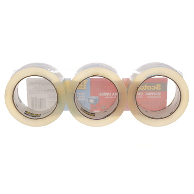 Scotch Heavy-Duty Shipping Packaging Tape SUPERIOR CLARITY 48 MM X 50 M